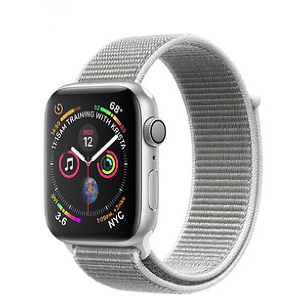 Relógio Apple Watch Serie 4 Caixa de 44 mm Silver Aluminum