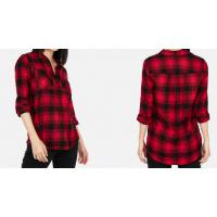 Abercrombie & Fitch Camisa Quadriculada