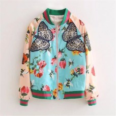 Jaqueta Bomber Floral BYDI