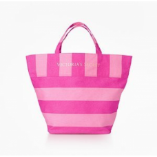 Bolsa Victorias Secret Pink Canvas Tote