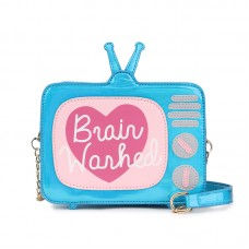 BYDI Bolsa de Ombro Brain Washed