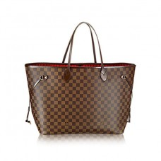 Louis Vuitton Bolsa Tote Canvas Neverfull Monogram Inspired