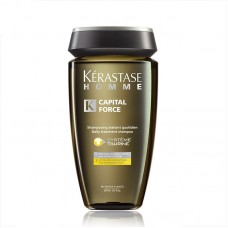 Kérastase Homme Shampoo Anti-Queda Capital Force Bain Energizante 250ml