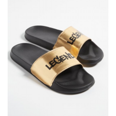 BYDI Chinelo Legend Metallic Gold
