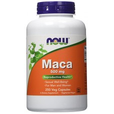 Now Foods Maca Peruana 500mg 250 Veg Capsulas