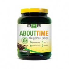 About Time Whey Protein Isolate 908g