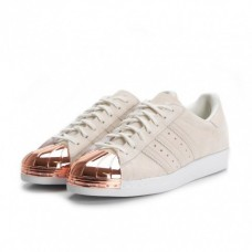 Adidas Tênis Superstar Metal Toe (Nude Rose)