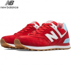 Tenis New Balance 574 Picnic Red