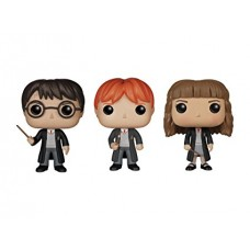 Funko Kit 3 Figure Action Harry Potter Miniatura (Personagens)