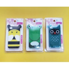 Case iPhone 4/4S Abelha Coruja Sapo
