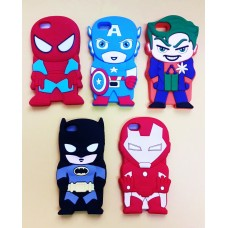 Case iPhone 5/5S Heróis HQ Marvel DC