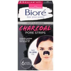 Biore Adesivo Anti-Cravos Deep Cleansing Charcoal Pore Strips