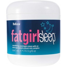 Bliss Creme Noturno para Celulite Fat Girl Sleep FatGirlSleep