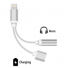 Cabo Adaptador fone de ouvido - Headphone Adapter Splitter iPhone