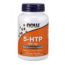 NOW 5-HTP 100 mg,120 Veg Capsules