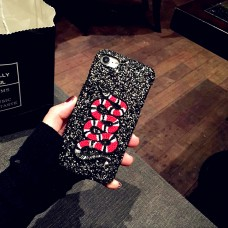 BYDI Case Capa Glitter Snake Gucci Inspired