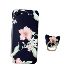 Case Capa Black Floral