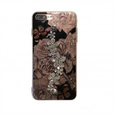 Case Capa Roses com Holder Diamond Flowers