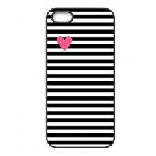 Case Heart Stripes iPhone 7 Plus