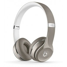 Fone de Ouvido Beats Solo2 WIRED On-Ear Headphones Luxe Edition NOT WIRELESS - Silver