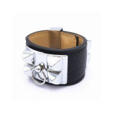 4369638210d Hermès Bracelete Prata Inspired
