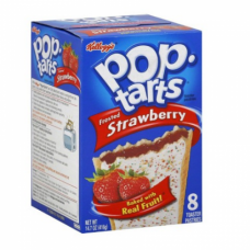 Kellogg's Pop-Tarts Frosted Strawberry Pastries 8 ct