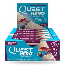 Quest HERO Barra de Proteína (10 unidades) Blueberry Cobbler