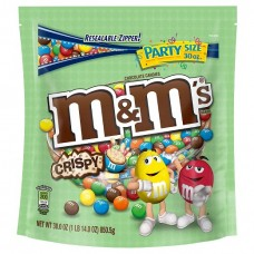 M&M'S Crispy Chocolate Candy Party Size