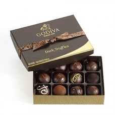 Godiva Dark Chocolate Truffles, 12 pc.