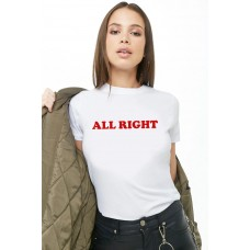 BYDI Camiseta T-shirt All Right