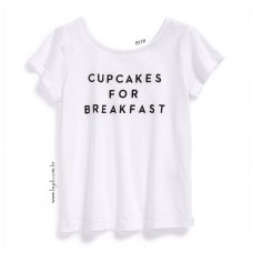 T-shirt Cupcakes for Breakfast