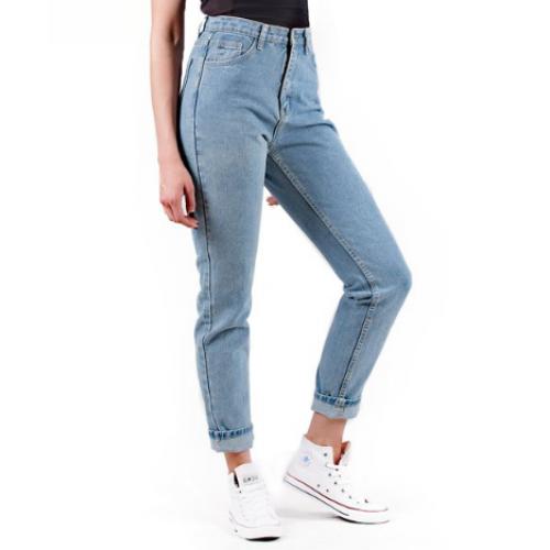 42b862874b1e BYDI Calça Mom Jeans Cintura Alta Vintage (Cores)