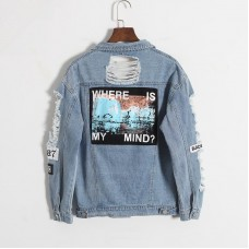 Jaqueta Where Is My Mind Denim Jacket