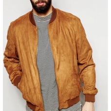 Jaqueta Bomber Suede BYDI