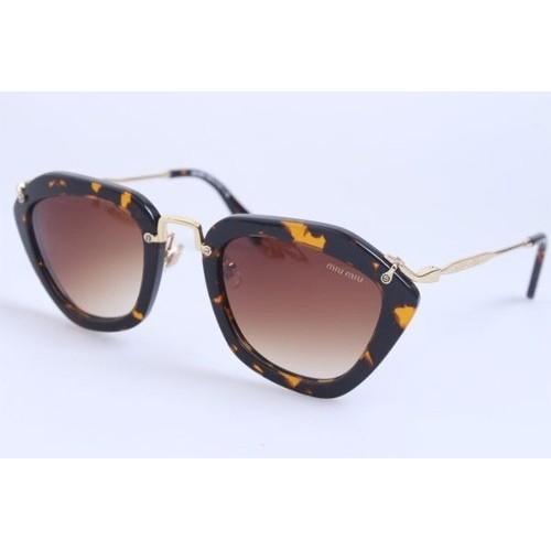 d81bac253aa1b Óculos Miu Miu Noir losango cor tartaruga lente clarinha