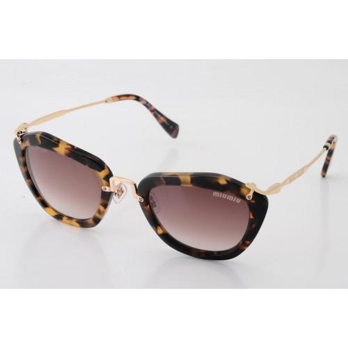 80c7fa298983d New Óculos Miu Miu Noir Tartaruga