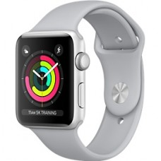 Relogio Apple Watch Serie 3 Caixa de 38/42 mm Prateada de Aluminio (Cinza)
