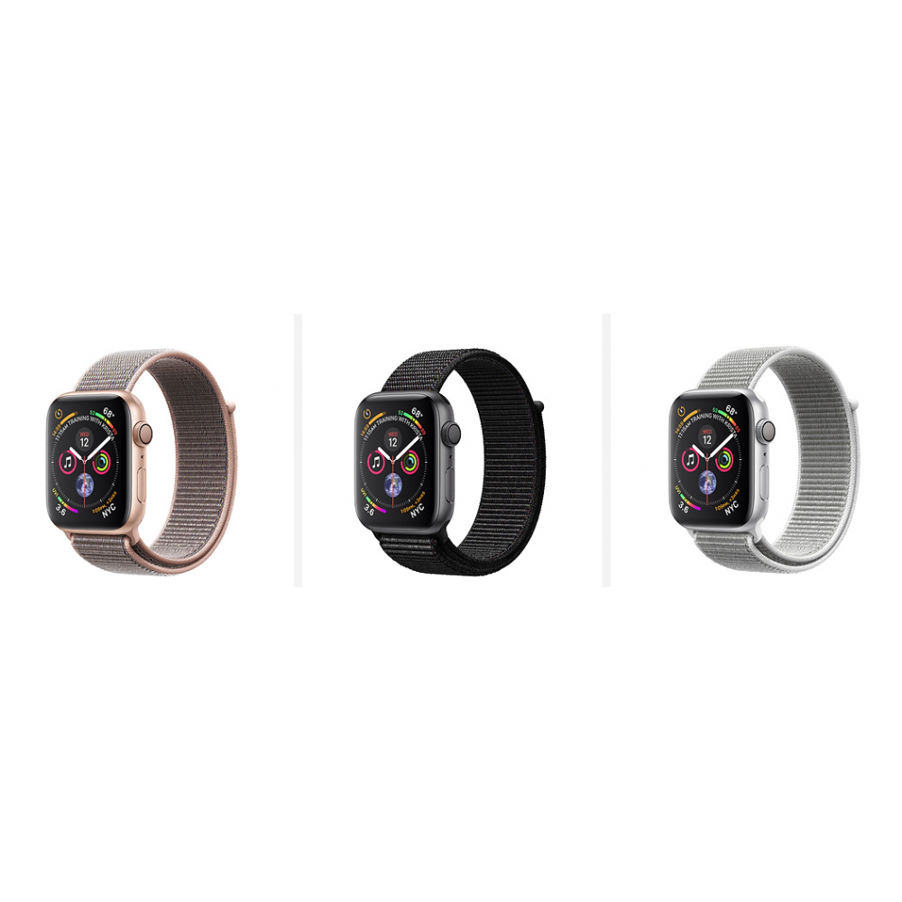 Relogio Apple Watch Serie 4 Caixa de 40/44 mm Nylon (Cores)