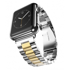 Apple Watch Pulseira Bracelete Silver Gold