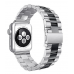 Apple Watch Pulseira Bracelete Silver Black
