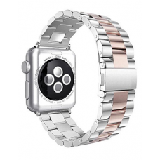 Apple Watch Pulseira Bracelete Rose Silver