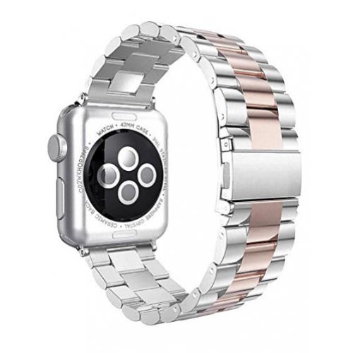6d6930eab72 Apple Watch Pulseira Bracelete Rose Silver