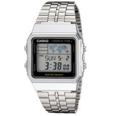 Relogio Casio Ref. A500WA-1ACF World TIME