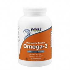 NOW Foods Omega-3 1000mg 500 Cápsulas Softgel