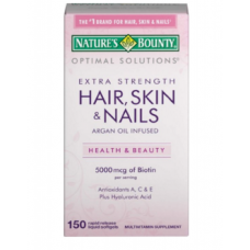 Nature's Bounty Vitamina Hair, Skin & Nails, 150 Cápsulas