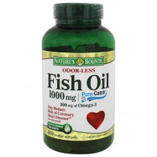 Nature's Bounty Fish Oil Omega 3 1000mg - Óleo de Peixe