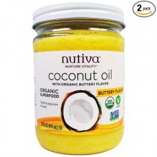Nutiva Coconuit Oil (Buttery Flavor) 414ml