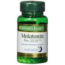 Nature's Bounty Melatonin Melatonina 5 mg 90 Capsulas