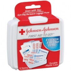 Johnson & Johnson Kit Primeiros Socorros Red Cross First Aid