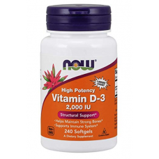 Now Foods Vitamina D3 - 2.000IU